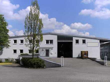 Gewerbehalle mit Rampe und Büroflächen in Augsburg-Lechhausen