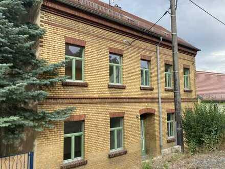Neu saniertes Haus in der Altstadt von Kamenz mit Blick ins Grüne