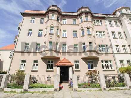 Denkmalgeschützte 2-Zimmer-Altbauwohnung in Leipzig-Crottendorf