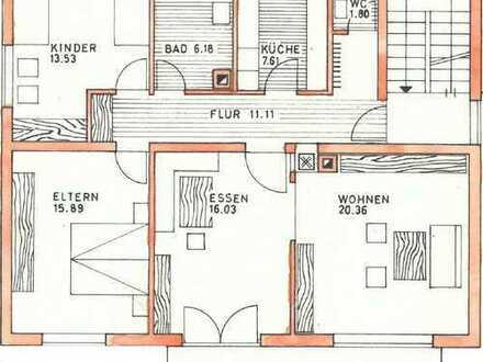 Sanierte 3-Zimmer-Wohnung mit Balkon und Einbauküche in Ulm