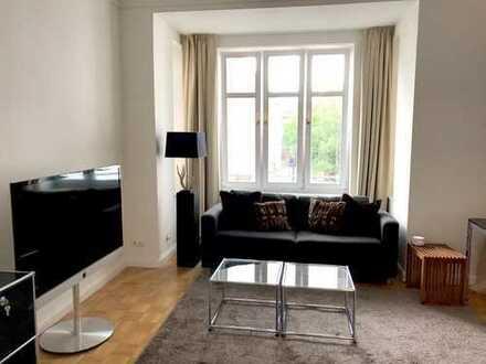 Möbliertes Zimmer (33qm) in Traumwohnung Reudnitz (3er WG)