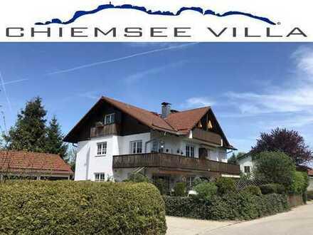 BERGBLICK, RUHE, SONNIG, ZENTRAL, 2.5 Zi in Bernau von Chiemsee Villa Immobilien.