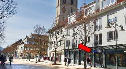 Neue Büroräume in der Fußgängerzone von Balingen