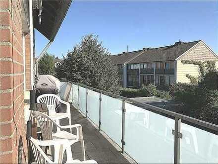 Großer Südlage Balkon, 30qm Wohnzimmer, geringe Betriebskosten durch KfW Haus, 41 kw, Wärmepumpe