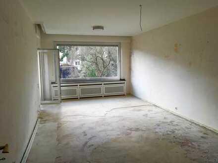 Schöne und ruhige 3-Zimmer-EG-Wohnung mit Balkon in Düren-Zentrum
