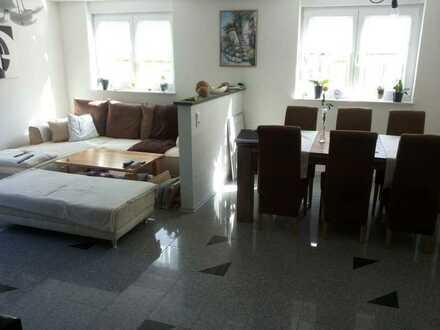 Helle 3-Zimmer Souterrainwohnung mit Freisitz in Stutensee-Spöck