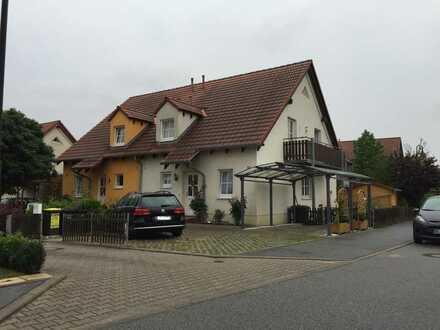 Gepflegte Doppelhaushälfte (120qm) mit Keller, Garten, Sauna und Einbauküche in Ottendorf-Okrilla
