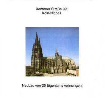 Exklusive, gepflegte 4-Zimmer-Wohnung mit Balkon in Nippes, Köln
