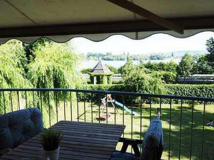 Schöne 3 Zimmer-Wohnung mit Rheinblick und Balkon in Oestrich-Winkel