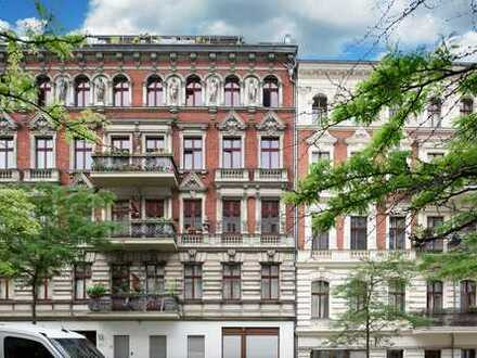 Wohnen im beliebten Bergmannkiez 1,5 Zimmer mit Terrasse