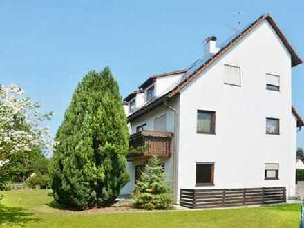 3-Zi.-Dachgeschoss-Wohnung mit Gartenanteil in ruhiger Lage von Merching