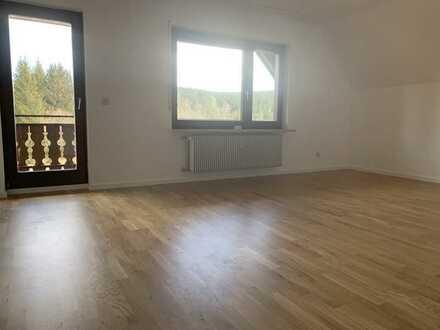 Schöne sanierte 2,5-Zimmer-Wohnung in Schluchsee mit EBK und Ausblick