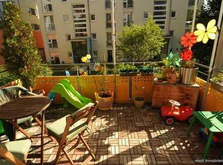 elvirA! Pasing, Kapitalanlage, vermietet: idyllische 3-Zimmer-Wohnung am Stadtpark