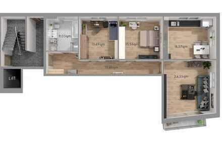 Moderne 4-Zimmer Wohnung mit Platz für die ganze Familie
