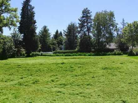 Icking - Herrliches Grundstück in ruhiger Sonnenlage für eine repräsentative Villa