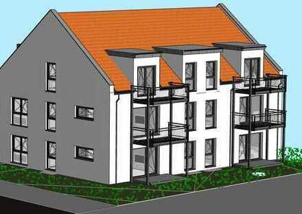 NEUBAU - Sehr helle, großzügige 3-Zimmer EG-Wohnung mit Terrasse und eigenem Gartenanteil