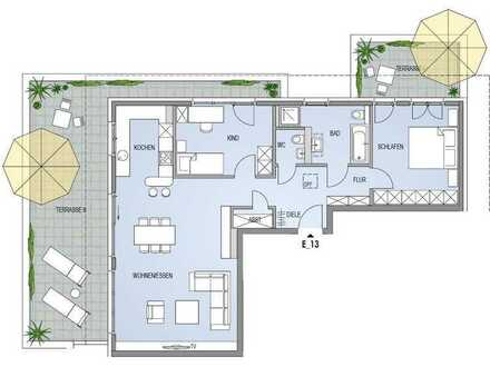 Komfort mit Rundumservice: Traumhaftes 3,5 Zi.-Penthouse mit Aussicht