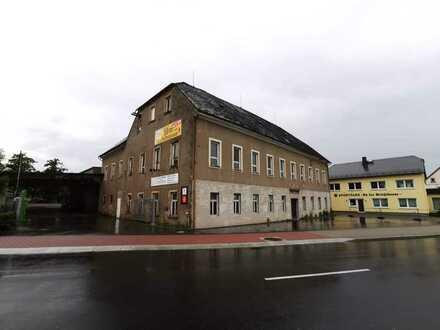 """+++ ehem. Gasthof """"Reichskrone"""" als Sanierungsobjekt mit Gewerbehalle in Altmittweida +++"""