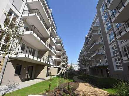 OPTIMAL FÜR 2 ER WG++ Neubauwohnung mit toller Aufteilung*Parkett, Fußbodenheizung, Terrasse*