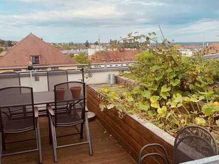 Penthouse in Aschaffenburg inkl. moderner Einbauküche und Terrasse