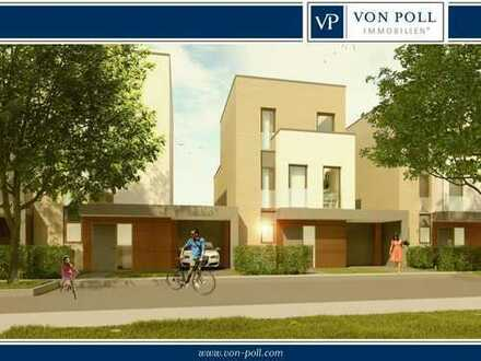 Vertriebsstart KLEEBLATT: 12 exlusive Stadthäuser in Bad Nauheim Süd, PROVISIONSFREI