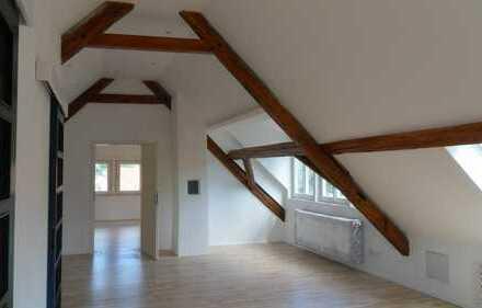Traumhafte 5 ZKB- Stadt-Maisonette-Wohnung mit Rundblick auf Burgen und Stadt - Stadtmitte Weinheim
