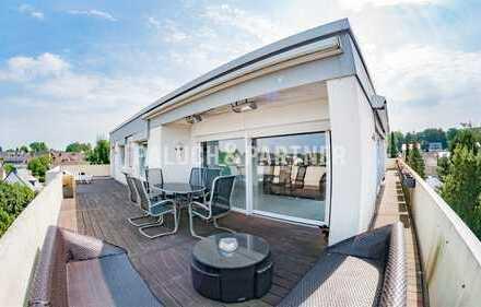 Penthouse-Wohnung in Dortmund-Bittermark mit Traumterrasse.