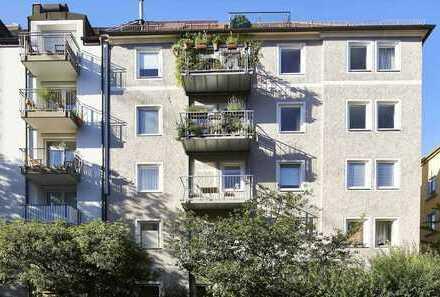 3-Zimmer-Altbau-Unikat in Top-Lage der Isarvorstadt (U3/U6)