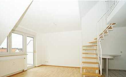 Galerie-Maisonette-Wohnung in Nürnberg-Eibach 2,5 Zi., Balkon u. TG *provisionsfrei*