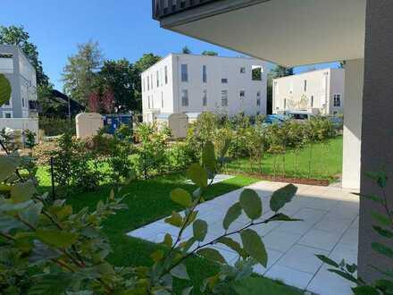 Höchster Wohlfühlfaktor! - Exklusive 2 Zimmer-Gartenwohnung zum Erstbezug in Pasing