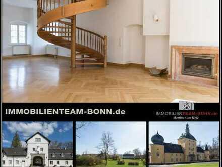 Traumhaft Leben in historischer Vorburg der Burg Gudenau | Großzügiges Wohnen im Torhaus