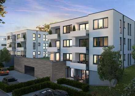 Schicke Penthouse-Neubauwohnung mit Südloggia