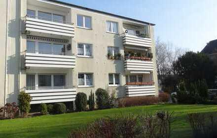 Komfortable bezugsfertig renovierte Wohnung mit sonnigen Balkon
