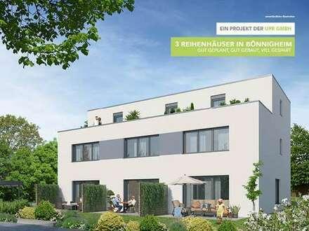 Traumhaftes RH in Bönnigheim mit Garten und Dachterrasse