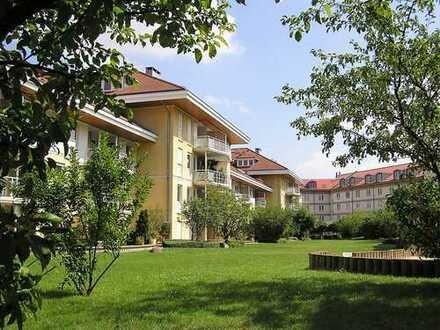 Zuhause mit Fahrstuhl, Balkon und Tiefgaragenstellplatz