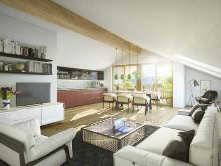 Wohnen am See - Dachgeschosstraum mit exklusiver Ausstattung und unverbaubarem Ausblick
