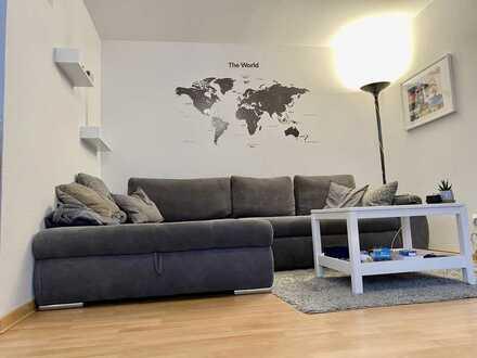 Sehr schöne 2-Zimmer-Wohnung mit Balkon und EBK in Waldbronn