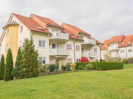 Herrliche 3-Zimmer-Wohnung mit Balkon im Grünen!