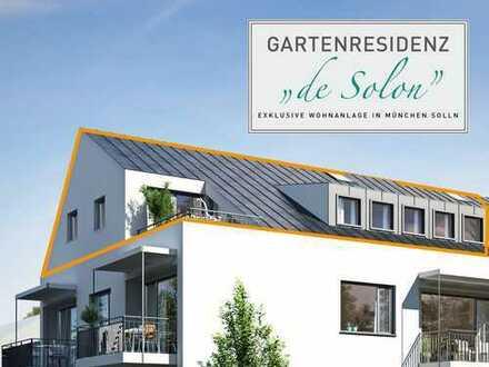 ATELIERGESCHOSS – 3-Zimmer-Dachtraum für Anspruchsvolle - 120 qm Wohn- und Nutzfläche - LIFT!