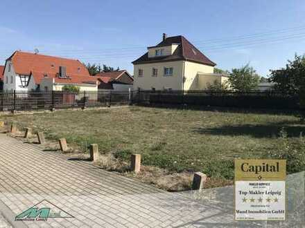 kleines Baugrundstück in Neukieritzsch-Lobstädt