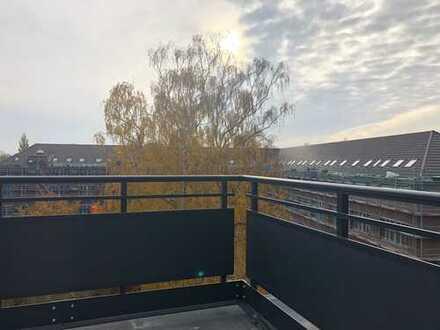 Tolle Wohnung - hochwertig ausgestattet - großer Balkon mit unverbaubarem Blick in den Park