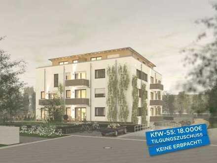 Großzügige 4½-Zimmer-Wohnung mit Terrasse und Garten am Park, KfW-55