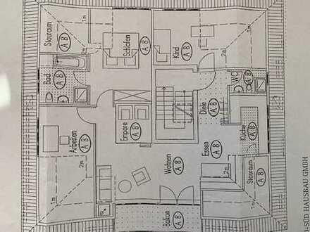 Neuwertige große 3,5 Zimmerwohnung in Toplage der Tübinger Altstadt