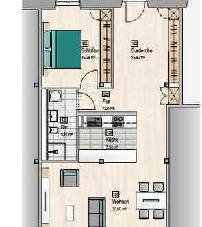 Exklusive 2-3 Zimmer Wohnung in Dettingen Mitte