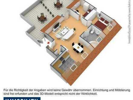 **Schöne Dreizimmer Wohnung mit Penthouse Feeling**