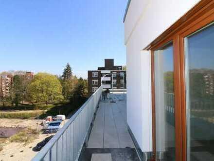 Penthouse Erstbezug | 2 Dachterrassen | lichtdurchflutete Wohnung mit Qualität!