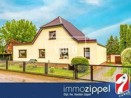 Ruhige Lage in Müncheberg: EFH mit 5 Zi., Kü., Bad, Wintergarten auf 2.552 m² Parkgrundstück am NSG.