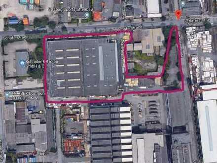 Lager und Produktionshalle in Bestlage Hafen Dortmund