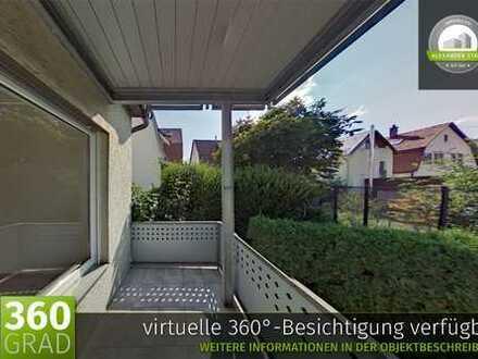 Große 2,5-Zimmer-Wohnung im Wohngebiet Rauner - sofort bezugsfrei