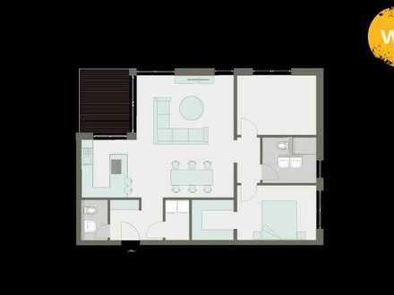 Traumhafte Neubau Wohnung 3,5 Zimmer in Nastätten mit Einbauküche zum Verlieben